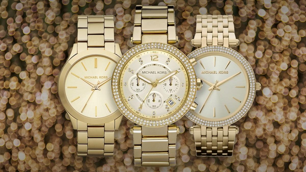 Najpiękniejszy złoty damski zegarek Michael Kors