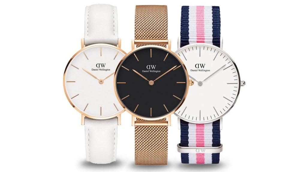 Minimalistyczny zegarek Daniel Wellington przekonuje prostym designem