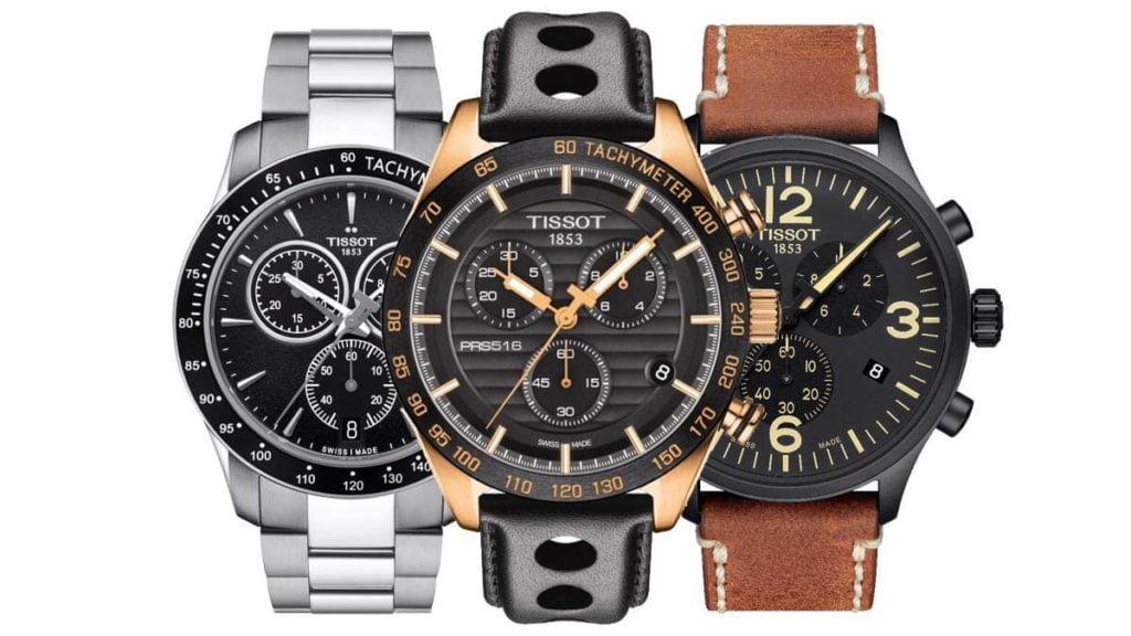 Męski zegarek Tissot to luksusowy szwajcarski zegarek