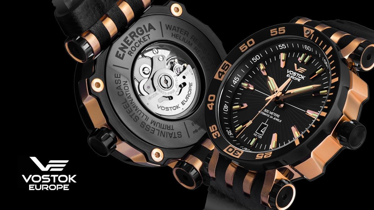 Wysokiej jakości zegarek Vostok Europe