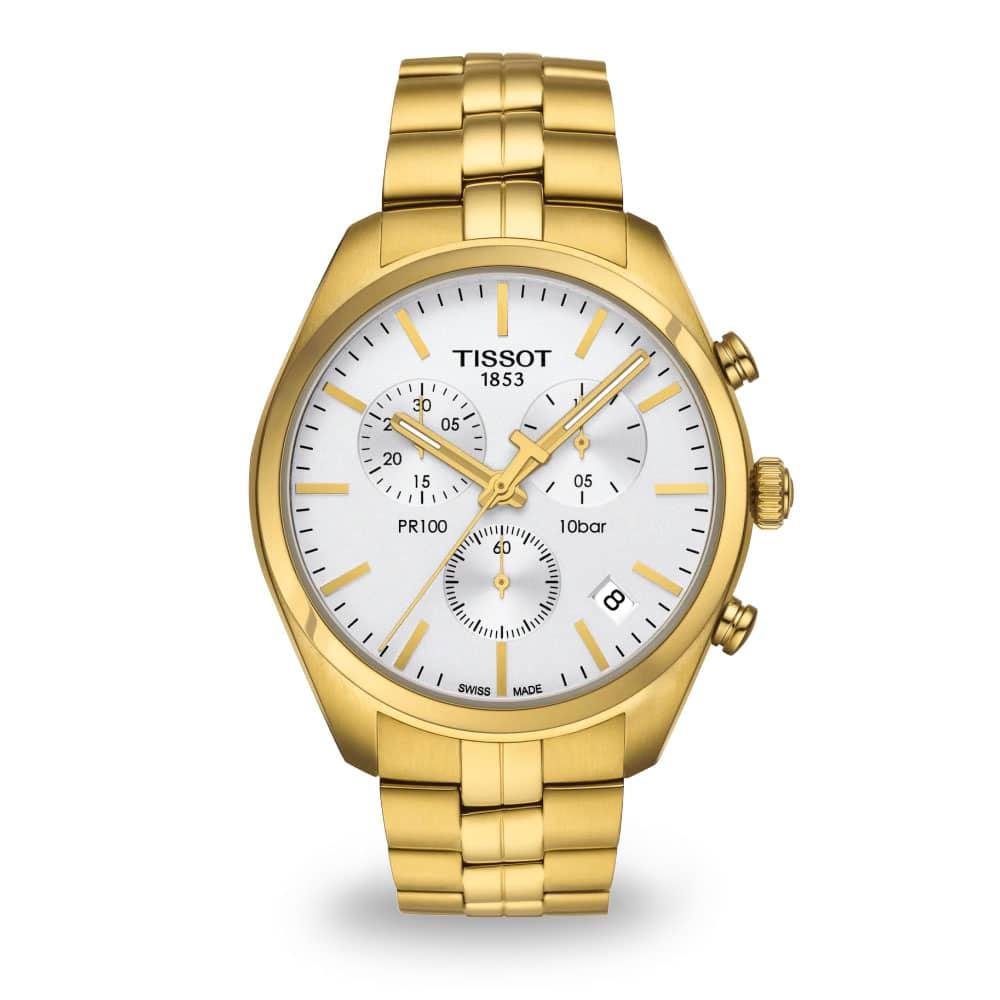 Zlaté hodinky Tissot