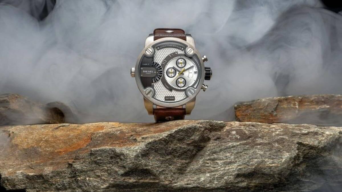 Męskie zegarki Diesel dominują w kategorii dużych zegarków!
