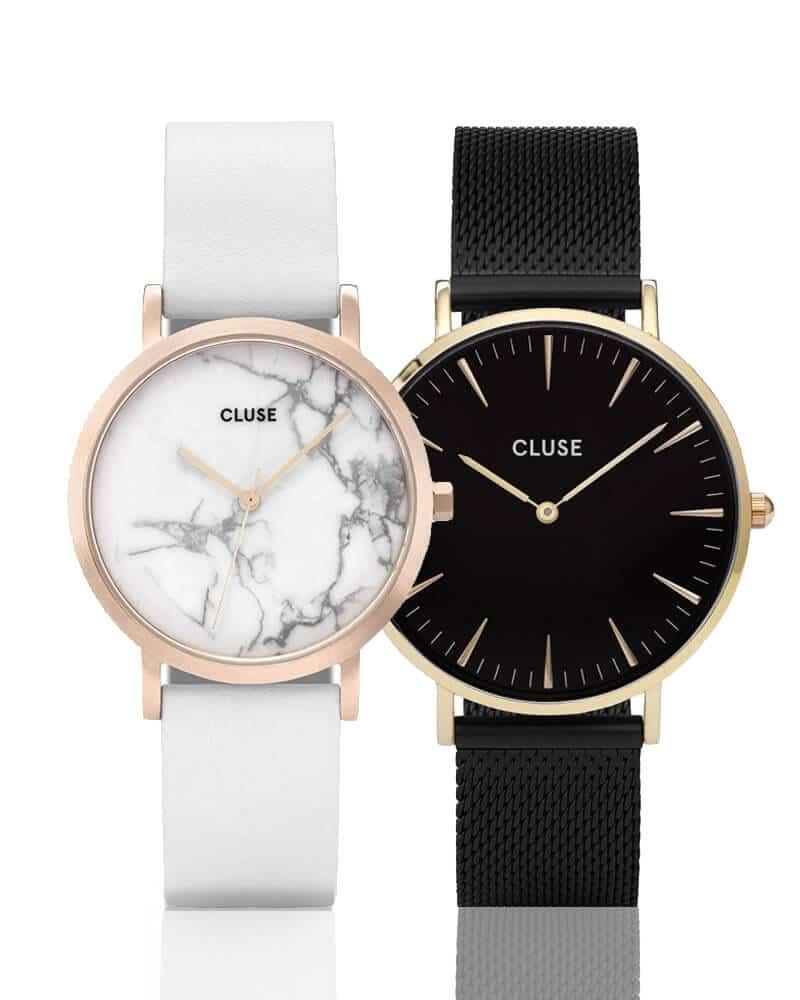 Zegarek damski Cluse, który słynie z minimalistycznych tarcz
