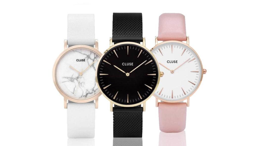 Elegancki i minimalistyczny damski zegarek Cluse