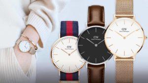 Modny damski zegarek Daniel Wellington w różnych kolorach