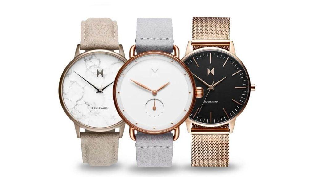 Minimalistyczne damskie zegarki - MVMT