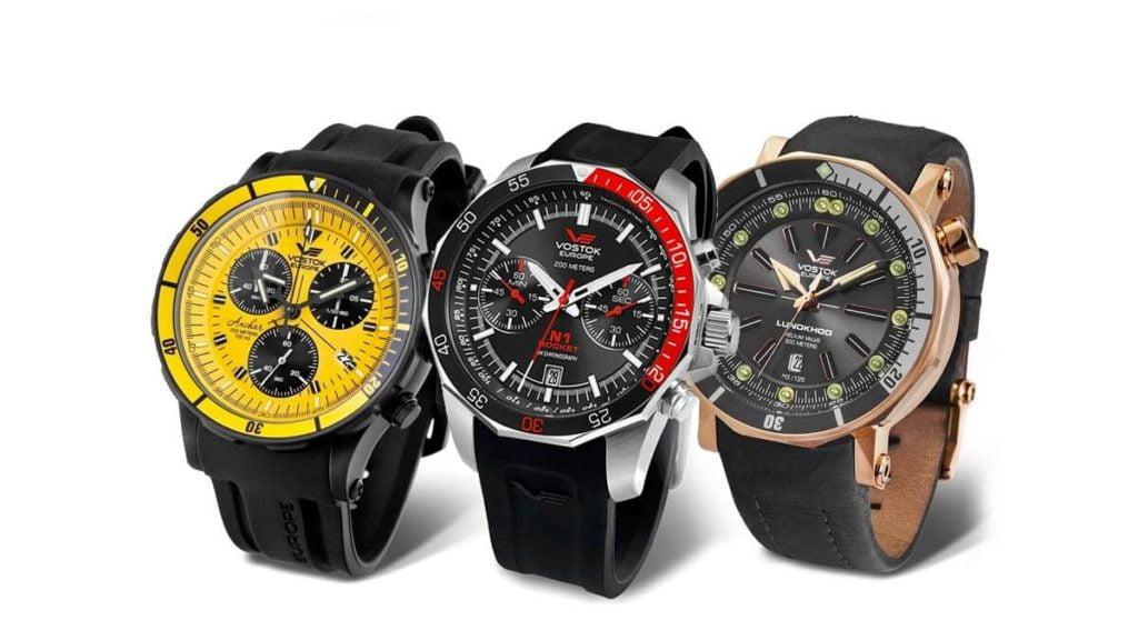 Zegarki męskie Vostok Europe to oryginalne męskie modele zegarków z dużą tarczą