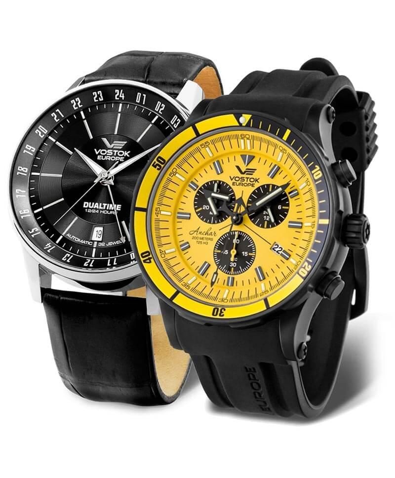 Zegarki Vostok Europe to masywne i dobrze wykonane zegarki pochodzące z Litwy