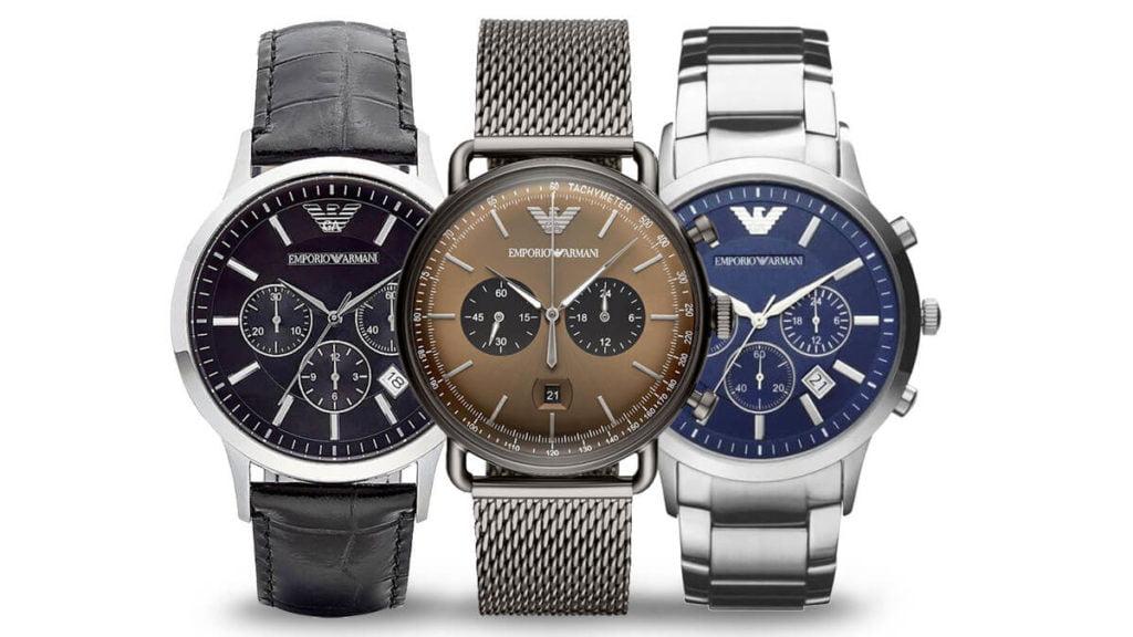 Męski zegarek Emporio Armani to wysokiej jakości zegarek włoskiego projektanta mody Giorgio Armaniego