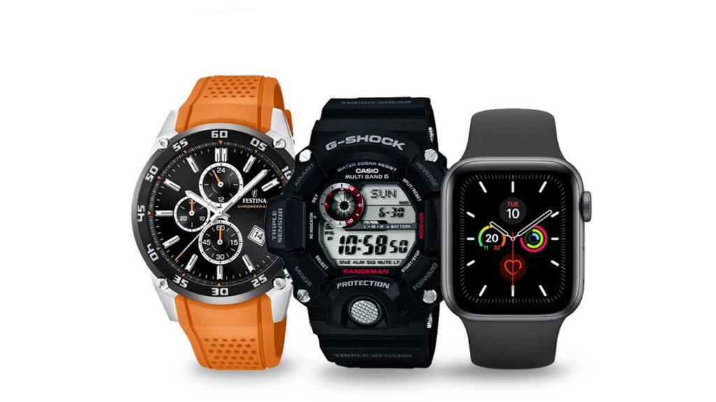 Zegarki męskie do biegania, wędrówek i innych zajęć sportowych