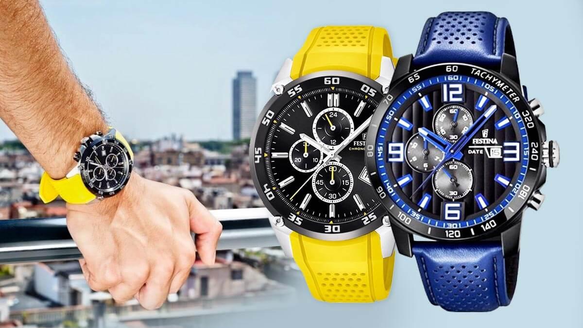 Zegarek Festina The Originals to stylowy zegarek sportowy