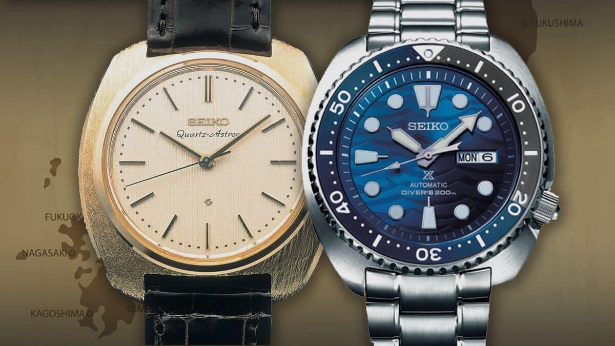 Japońskie zegarki Seiko to gwarancja jakości