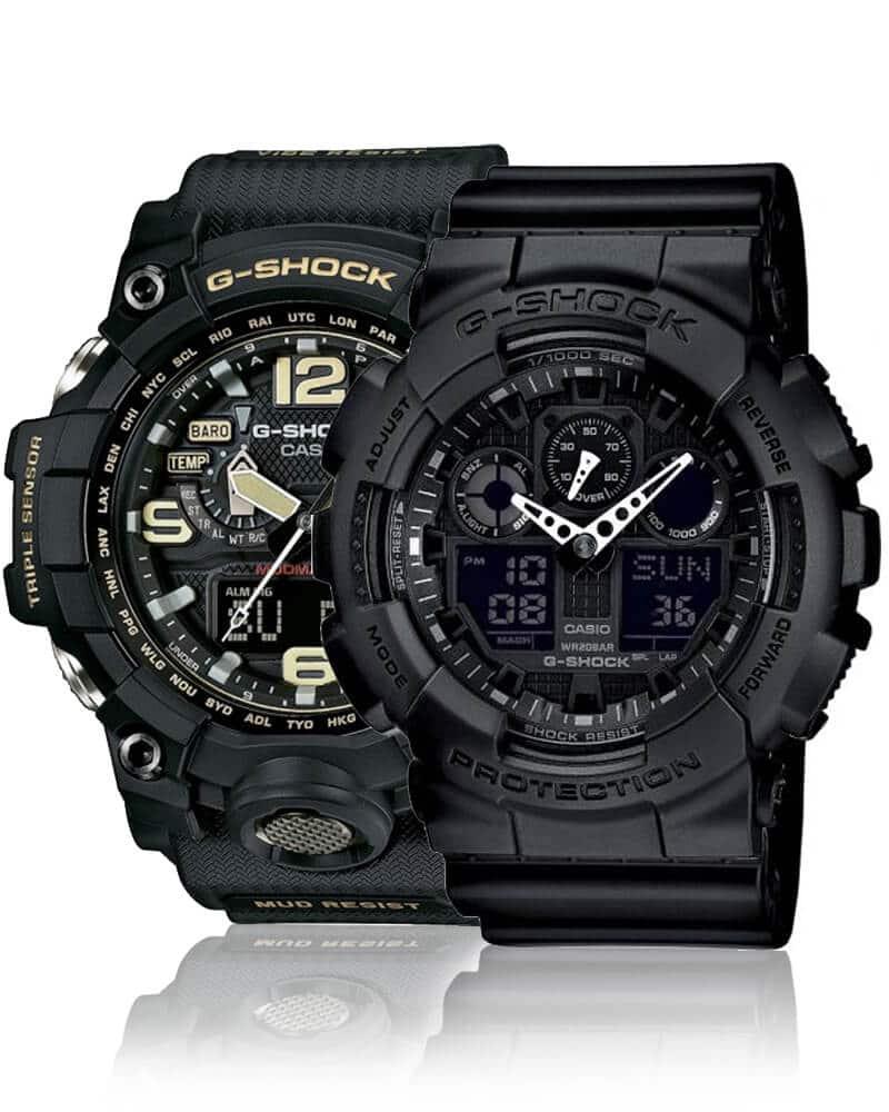 Solidny męski zegarek Casio G-Shock to doskonały wybór dla każdego, kto szuka wytrzymałego zegarka
