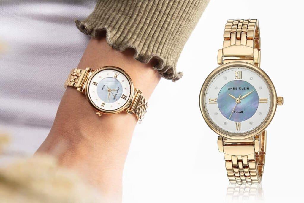 Zegarek Anne Klein zasilany słońcem z kolekcji Considered