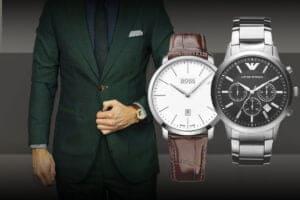 Szukasz stylowego męskiego zegarka do garnituru?