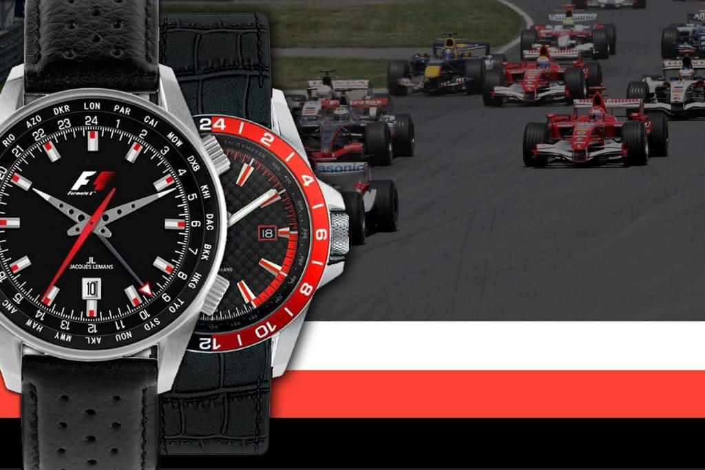 Zegarek Jacques Lemans był wyłącznym partnerem wyścigów Formuły F1