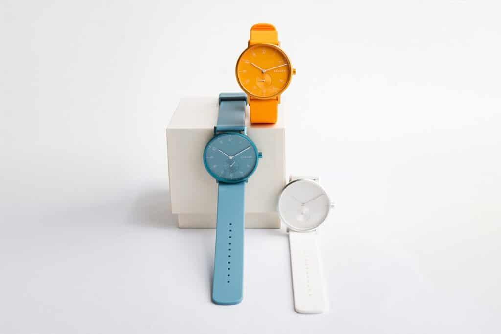Kolorowy zegarek Skagen Aaren Kulor