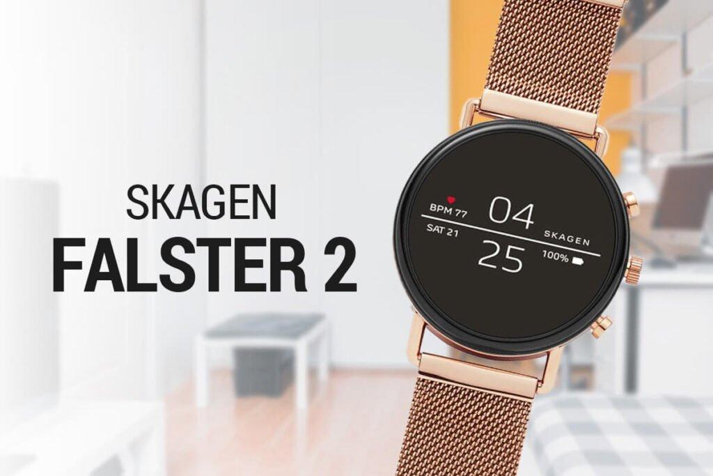 Nowoczesne inteligentne zegarki damskie Skagen Falster
