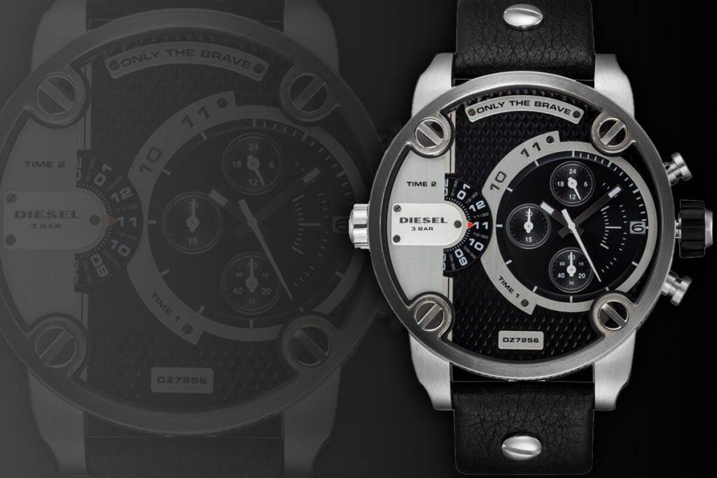Duży męski zegarek Diesel