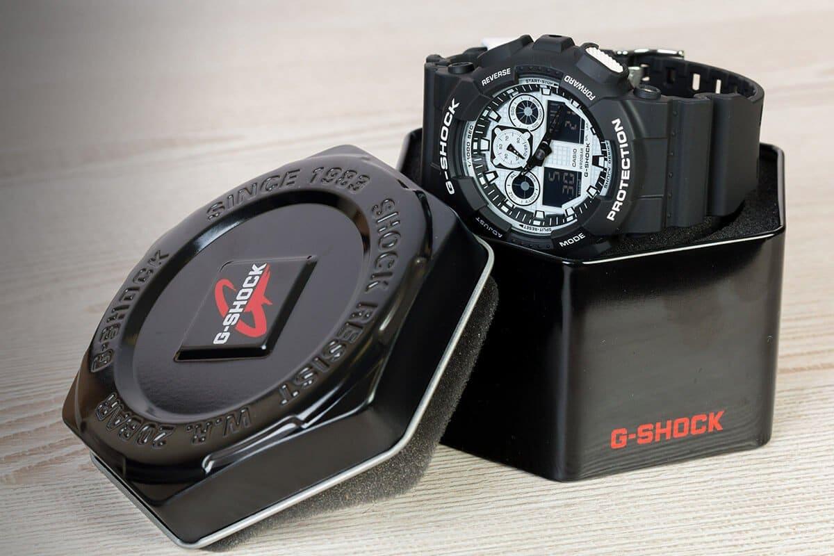 Ustawienie czasu w zegarku Casio G-Shock