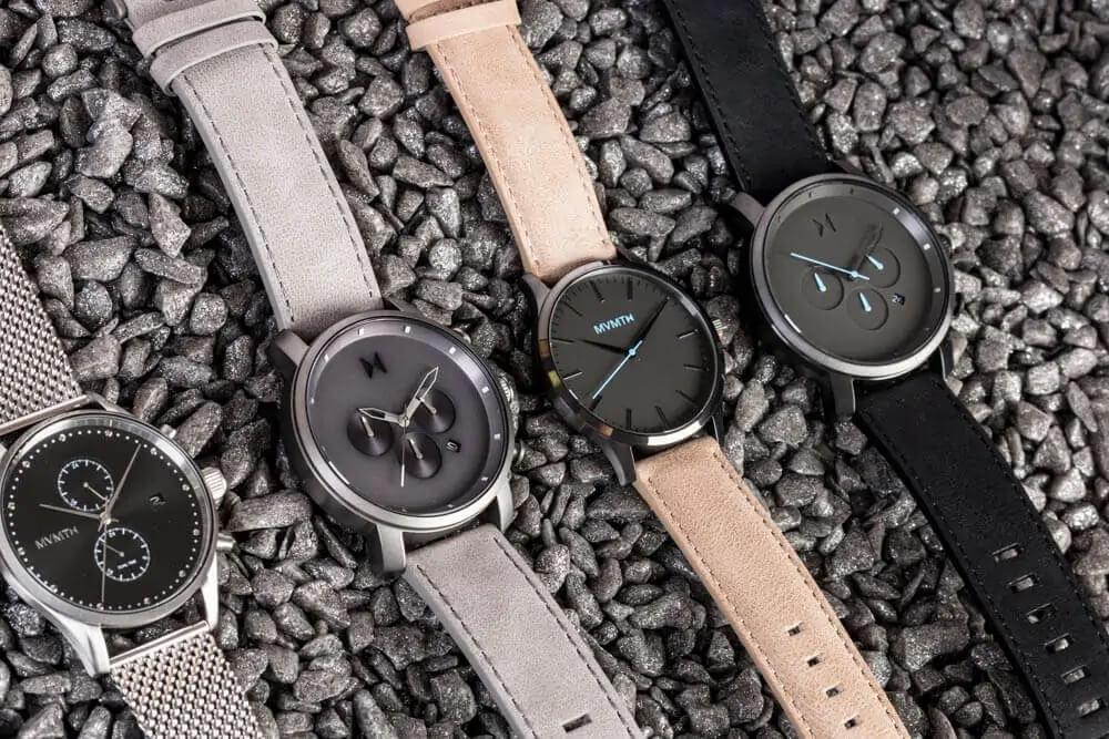 Zegarek męski MVMT w różnych wariantach kolorystycznych