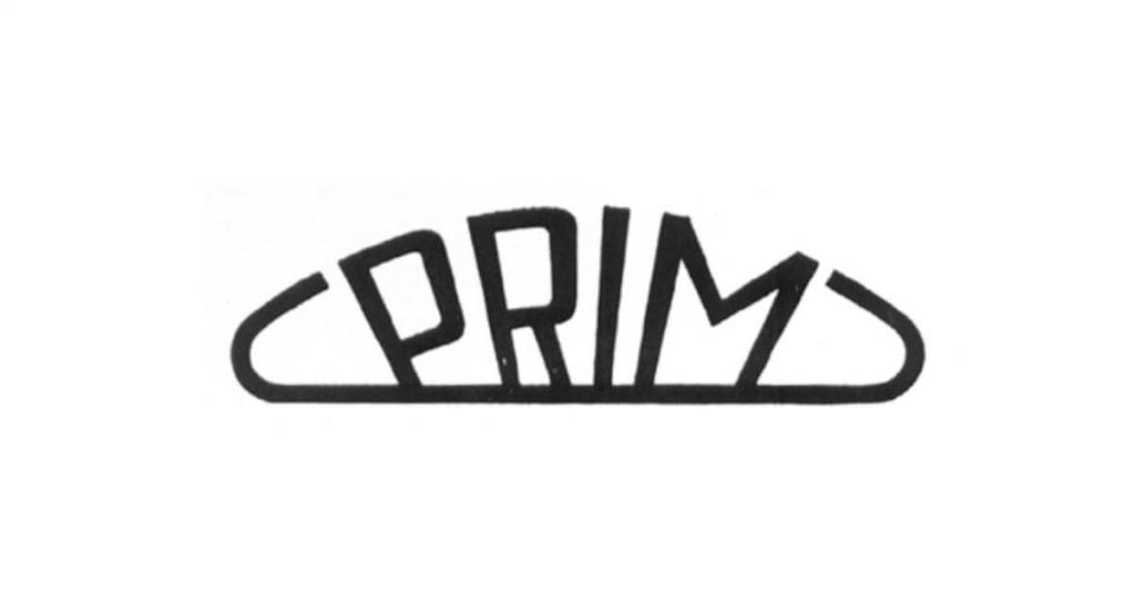 Logo firmy Prim z 1956 roku