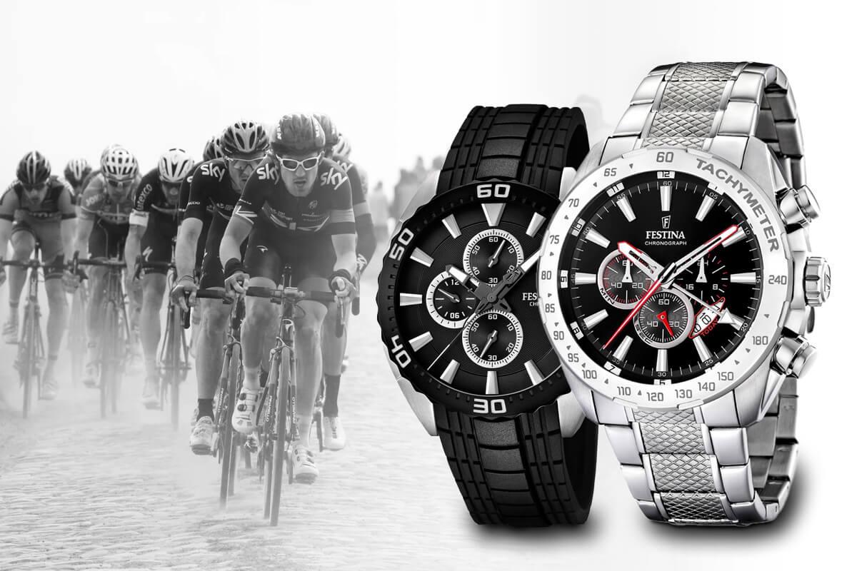Zegarki Festina są historycznie silnie związane ze światem kolarstwa