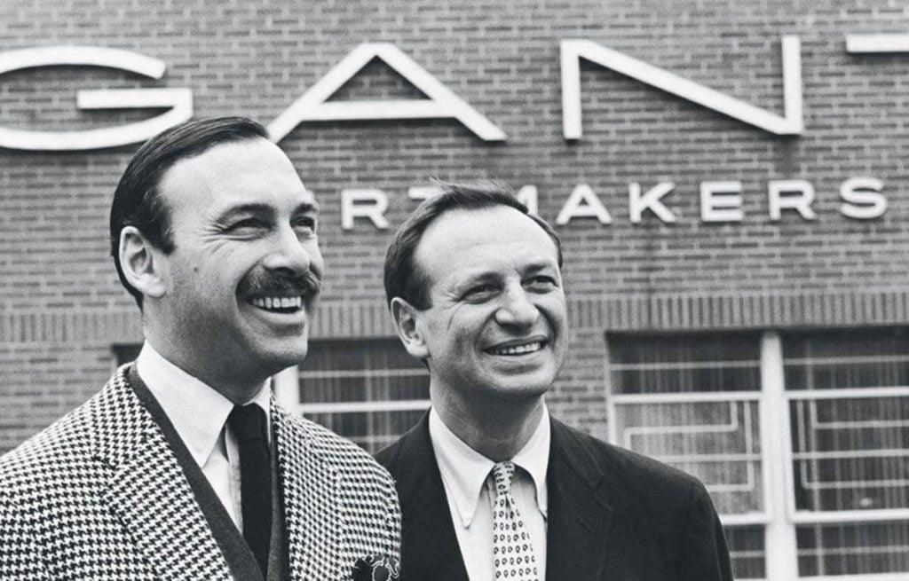 Założyciele marki modowej Gant