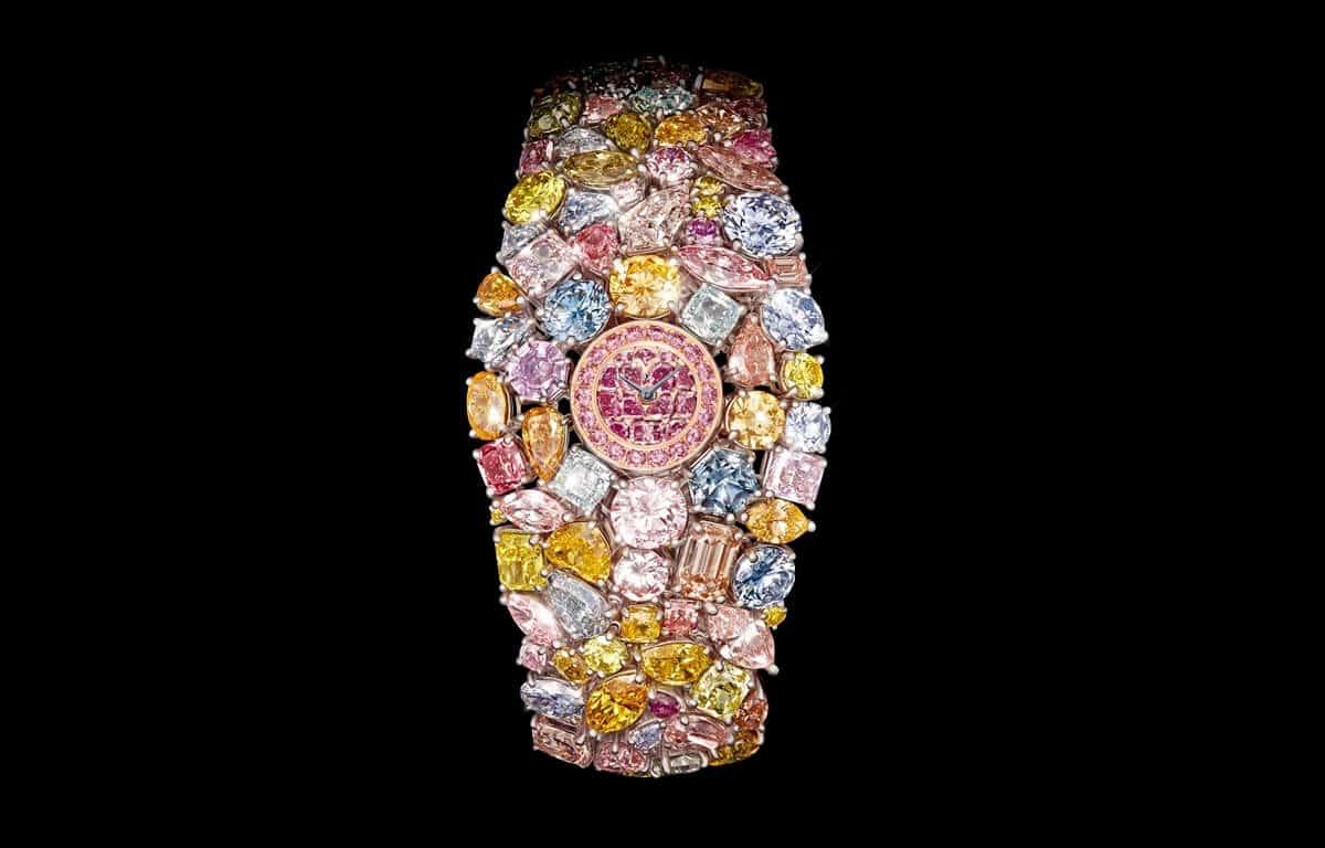 Wyjątkowy zegarek z szaloną ceną. To najdroższy zegarek na świecie dla Graff Diamonds Hallucination