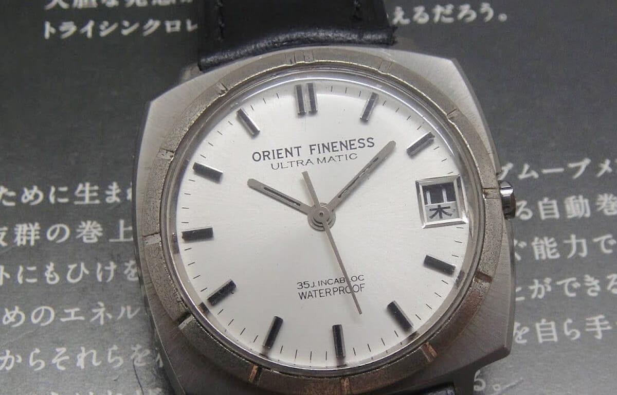 Zegarek Orient - historyczny model z Orient Fineness