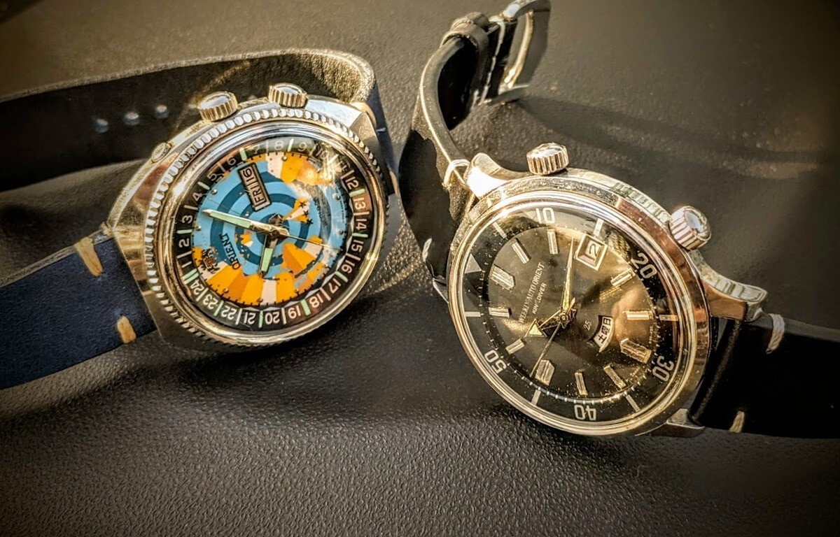 Historyczne modele zegarków Orient
