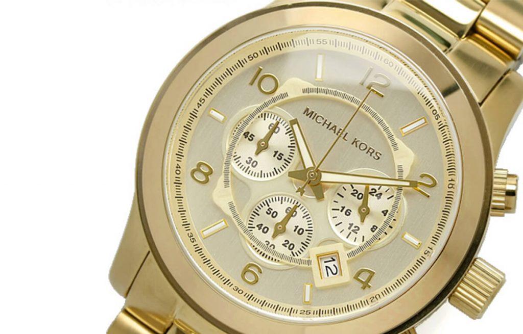 Masywny złoty zegarek męski Michael Kors MK8086