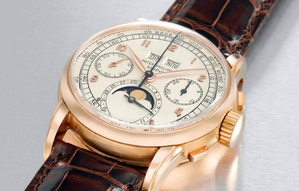 Najtańszy egzemplarz najdroższego zegarka świata - zegarek Patek Philippe wykonany z różowego złota