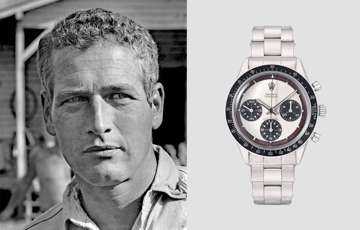 Hollywoodzki aktor Paul Newman był jednym z fanów zegarka. Unikalny zegarek Rolex Daytona z jego imieniem jest jednym z najdroższych zegarków na świecie