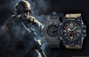 Zegarki wojskowe Luminox i Casio Mudmaster