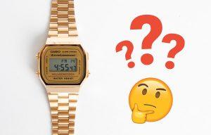 Ustawienie czasu w zegarku Casio Vintage
