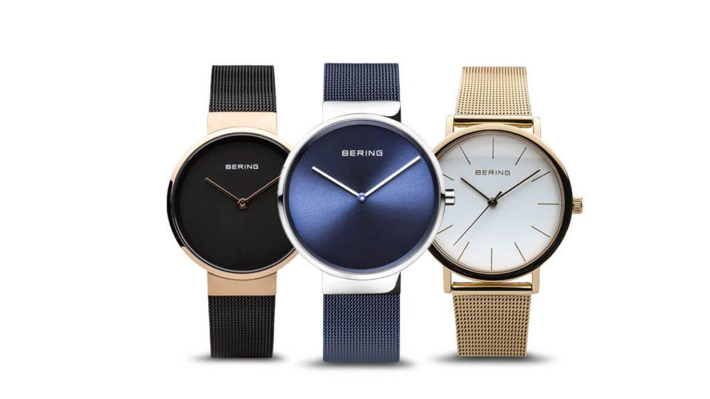 Świetny minimalistyczny damski zegarek Bering