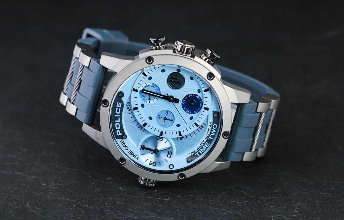 Niebieskie zegarki męskie Police