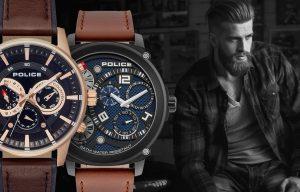 Męski zegarek Police - historia marki i modeli