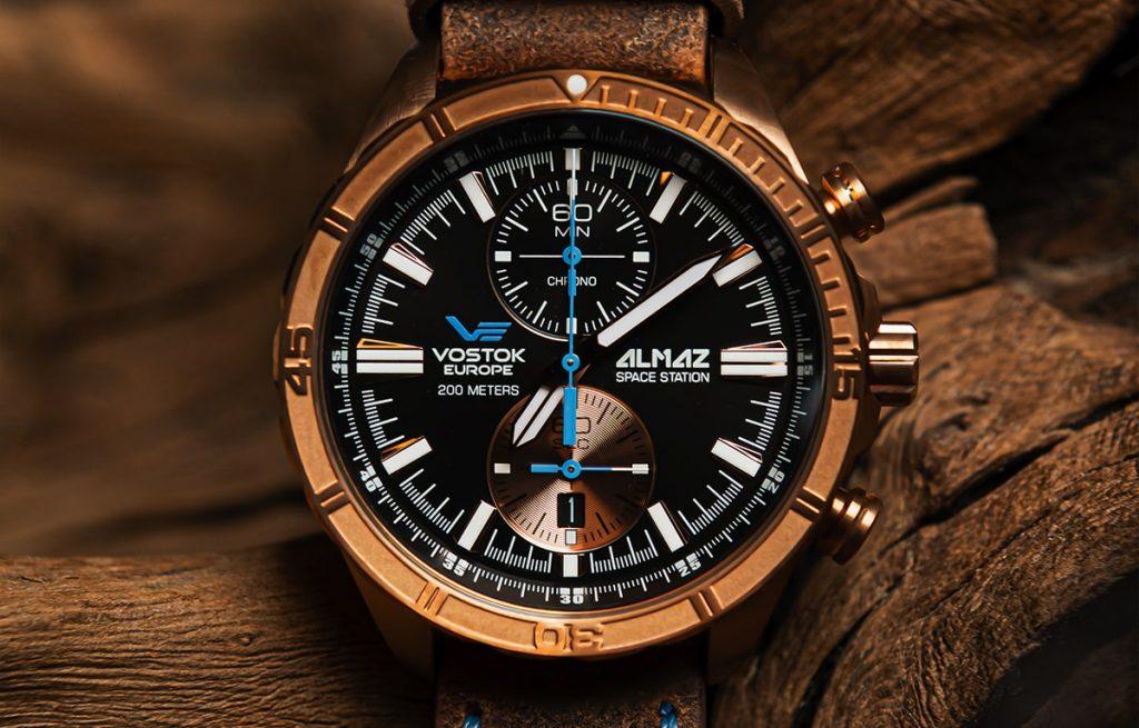 Zegarek Vostok Europe z wydania Almaz Space Edition