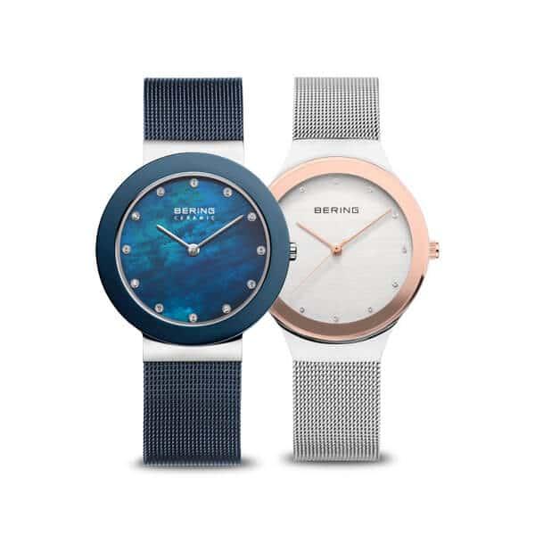 Czyste i delikatne - to minimalistyczne damskie zegarki Bering