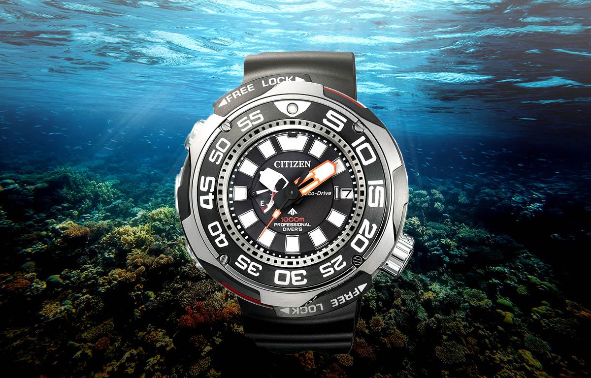 Profesjonalny zegarek nurkowy Citizen BN7020-09E