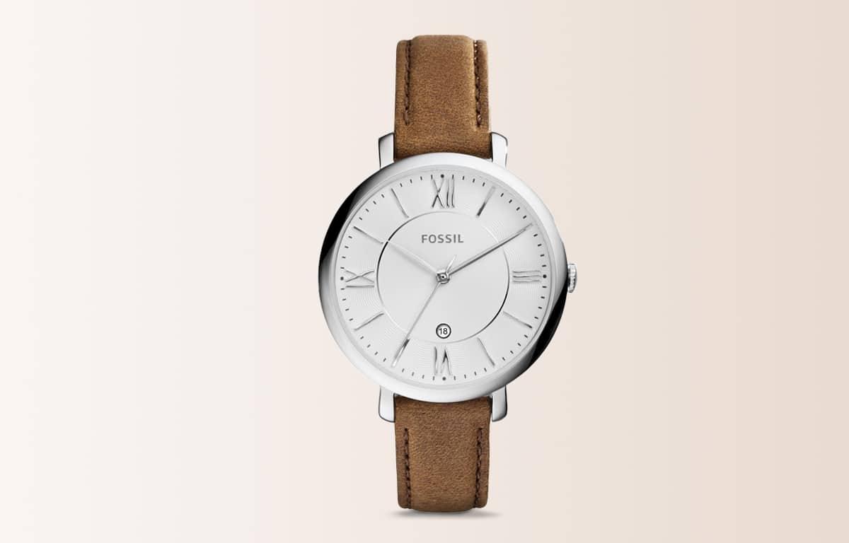Modowy zegarek Fossil z edycji Jacqueline