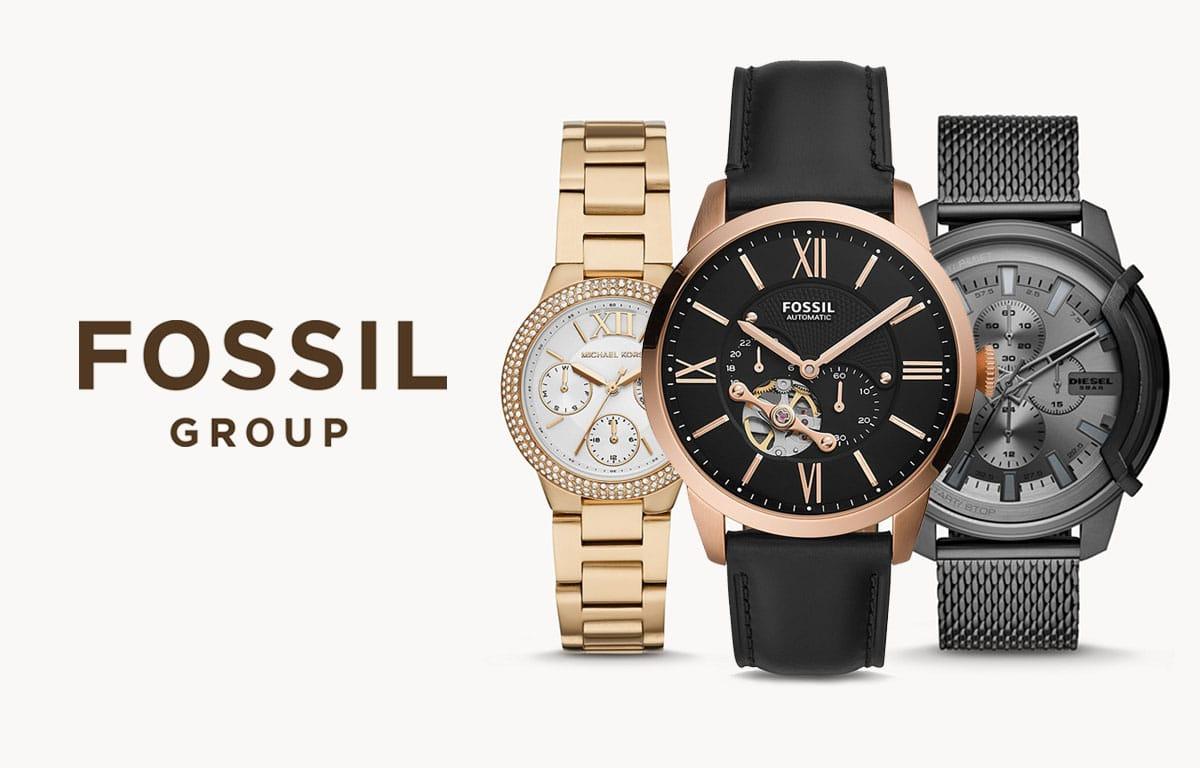 Fossil Group to jedna z największych firm zegarmistrzowskich na świecie