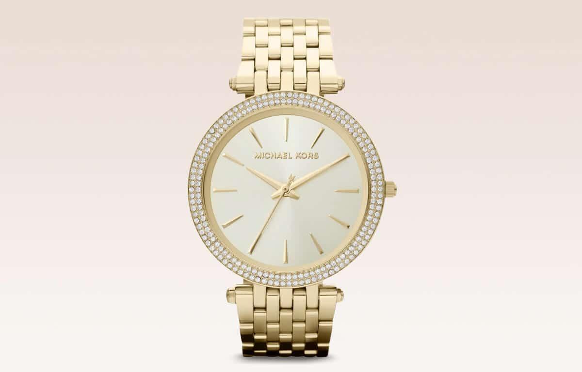 Złoty zegarek damski Michael Kors MK3190 z edycji Darci