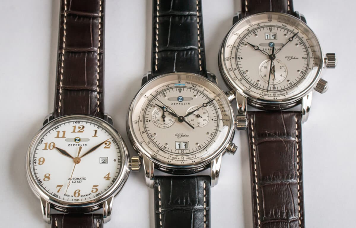 Zegarki lotnicze Zeppelin mają bogatą historię związaną ze słynnymi sterowcami