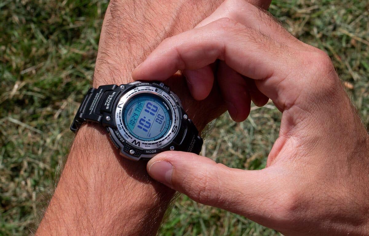 Tani zegarek Casio Pro Trek SGW-100-1VEF
