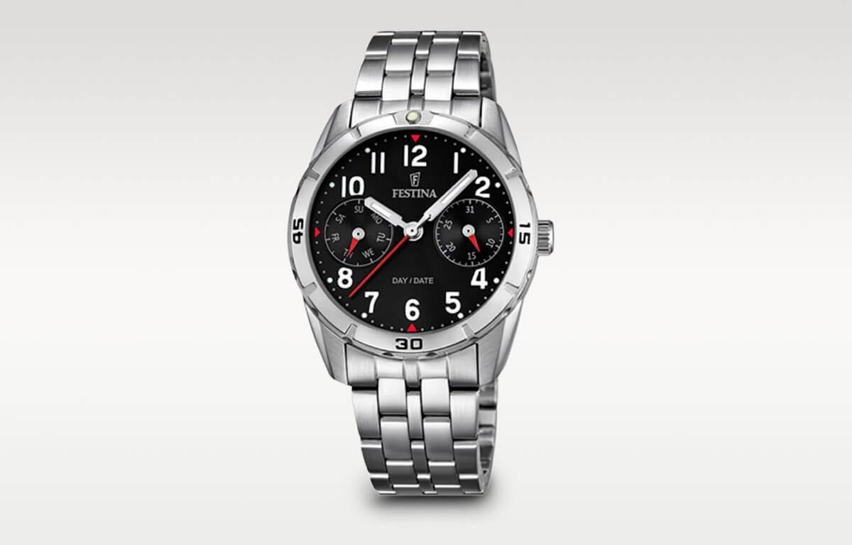 Doskonały chłopięcy zegarek Festina o eleganckim designie