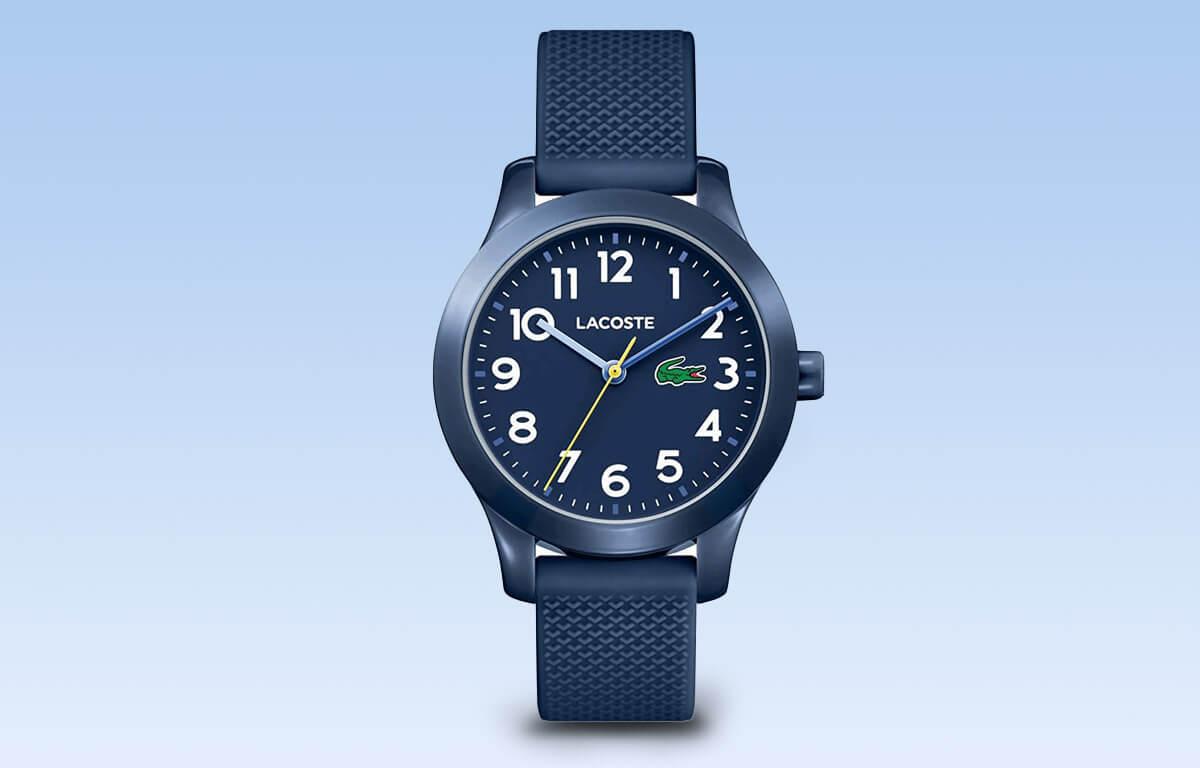 Zegarek dla chłopca Lacoste w odcieniach niebieskiego