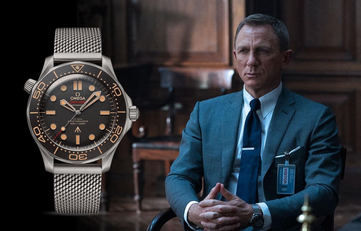 Słynny zegarek męski Omega znalazł się również w filmach o agentowi Jamesie Bondzie